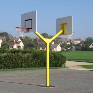 Panier de basket haute r sistance pour les collectivit s - Panneau de basket exterieur ...