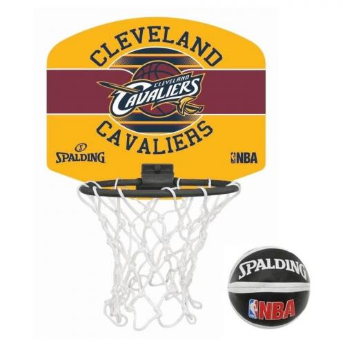 ballon de basket mini board nba cleveland cavaliers spalding. Black Bedroom Furniture Sets. Home Design Ideas