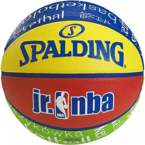 ballon basket junior taille 5 spalding nba. Black Bedroom Furniture Sets. Home Design Ideas