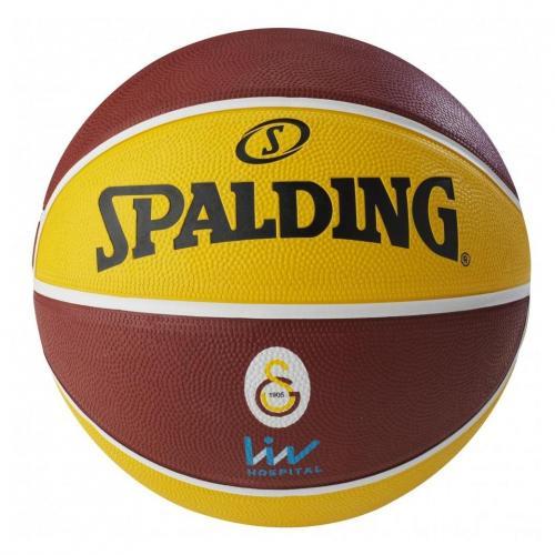 Ballon de Basket Spalding Taille 7 Euroleague Galatasaray Istanbul