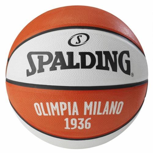 Ballon de Basket Spalding Taille 7 Euroleague Olimpia Milan