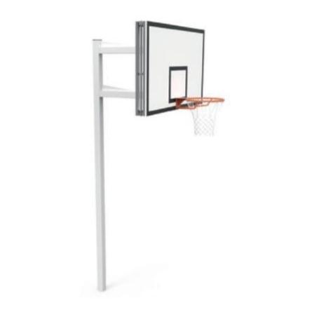 Panier de basket ext rieur r glable for Panneau de basket exterieur