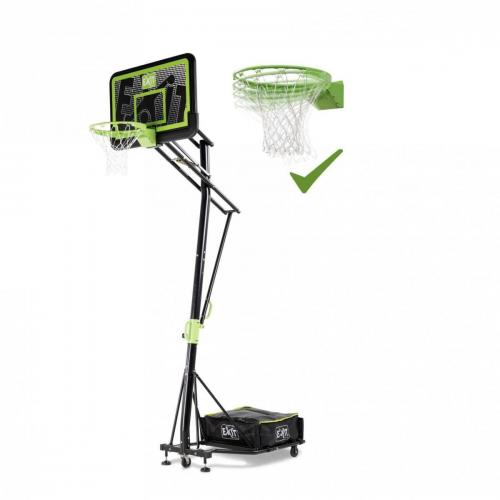 panier basket mobile dunk reglable noir