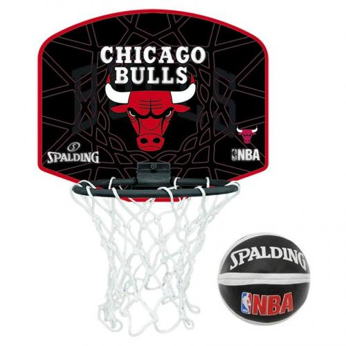 ballon de basket miniboard nba chicago bulls spalding. Black Bedroom Furniture Sets. Home Design Ideas