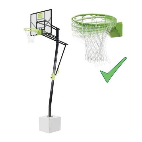 panier de basket sur pied galaxy in ground avec arceau dunk. Black Bedroom Furniture Sets. Home Design Ideas
