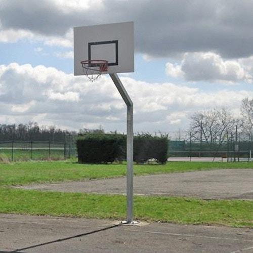 Panneau de basket à sceller