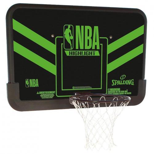 Panier de basket Mural NBA highlight green
