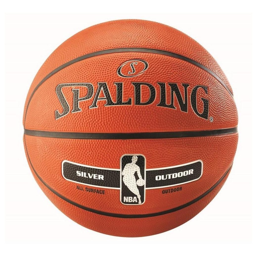 Ballon Basket pour l'extérieur NBA Silver Outdoor.