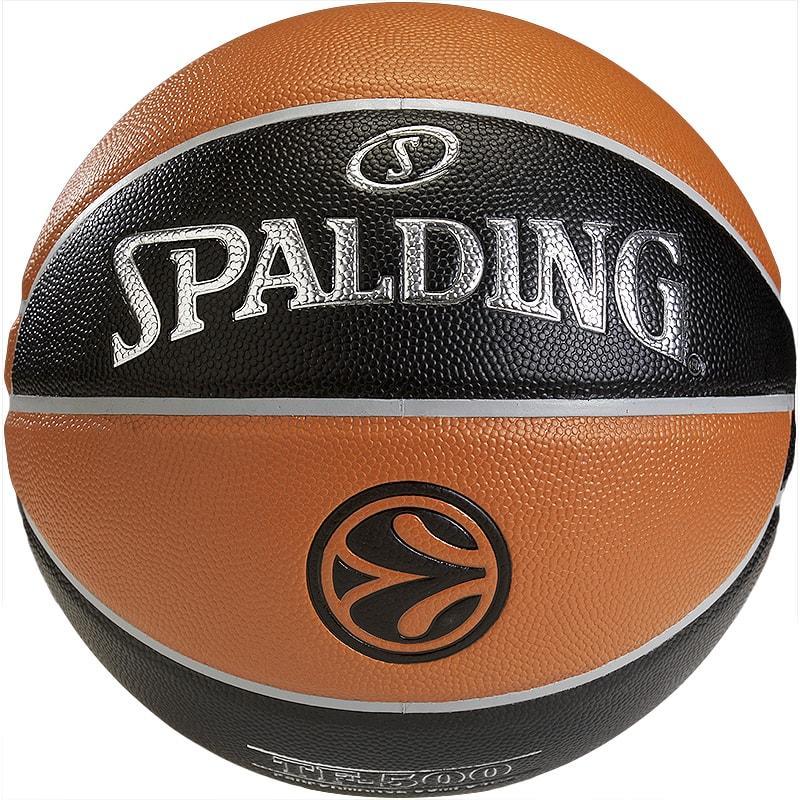 ac721695995b6 ▷ Ballon Basket Spalding TF 500 Euroleague Officiel Taille 7