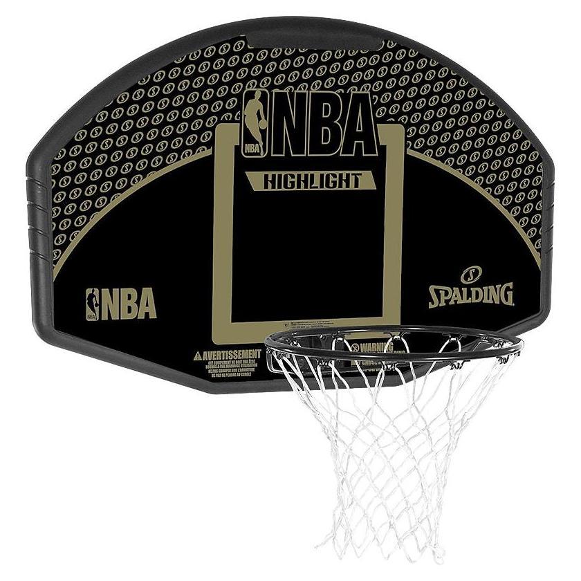 panier de basket mural nba fan backboard spalding. Black Bedroom Furniture Sets. Home Design Ideas