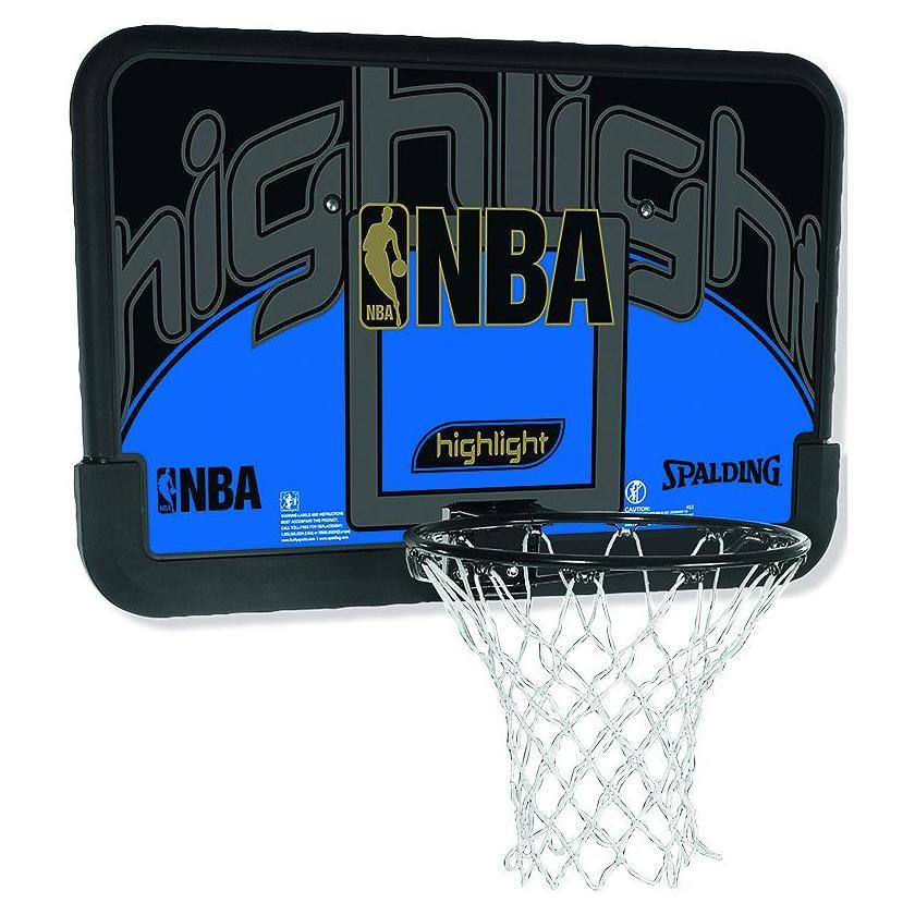 panier de basket mural nba highlight backboard n 1 sur. Black Bedroom Furniture Sets. Home Design Ideas