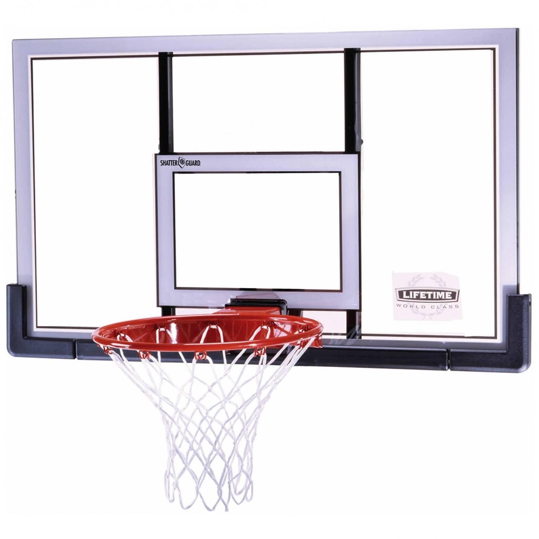 panier de basket mural r glable avec arceau dunk et. Black Bedroom Furniture Sets. Home Design Ideas
