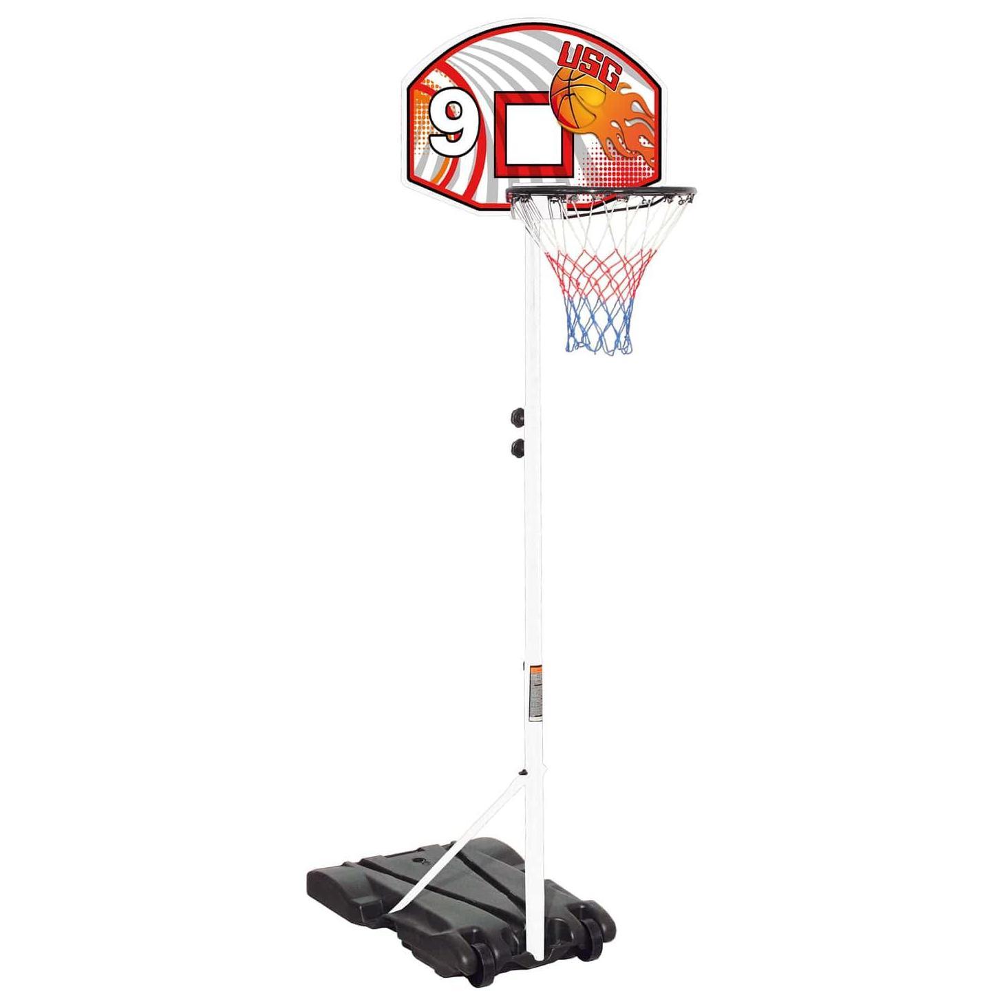 panier de basket sur pied pas cher three id al pour les. Black Bedroom Furniture Sets. Home Design Ideas