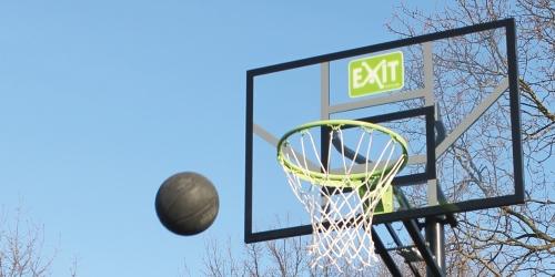 Panier de basket sur pied mobile