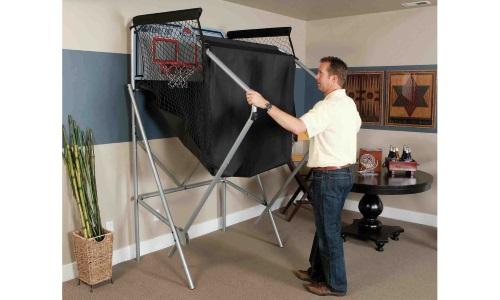 Panier de basket double shot