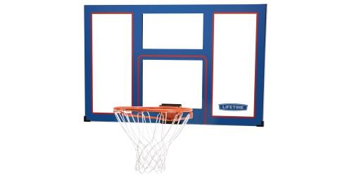 Panier de basket en plexiglass