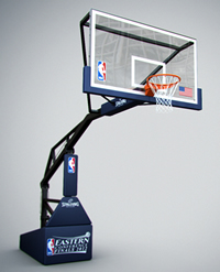 hauteur panier de basket nba
