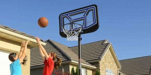 Panier de basket sur pied streamline - Panier de basket exterieur ...