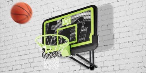 Panneau de basket mural noir