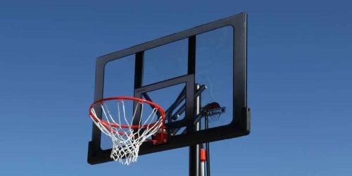 Panier de basket sur pied power lift panier de basket de qualit - Panier de basket exterieur ...