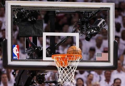 Planche panier de basket NBA