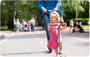 trottinettes petites roues pour enfants