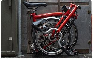vélo pliant compact