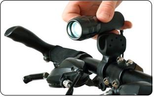 Eclairage du vélo pliant