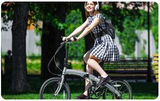 Usage du vélo pliant