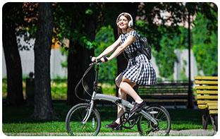 Bonne performance des vélos pliants