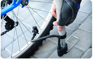 Pompe à vélo vélo pliant