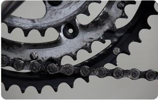 propreté chaîne vélo pliant