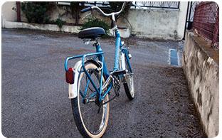 Taille similaire vélo pliant