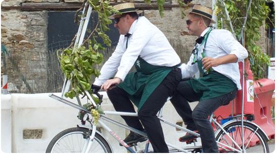 Le vélo tandem est un cadeau original